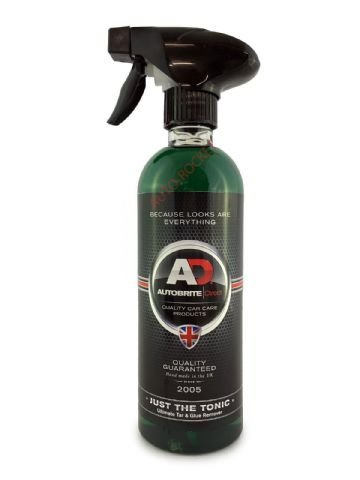 Autobrite Direct - Tar & Glue Remover - Just The Tonic - 500ml Spray